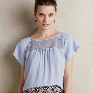Anthropologie Maeve Lace Blouse